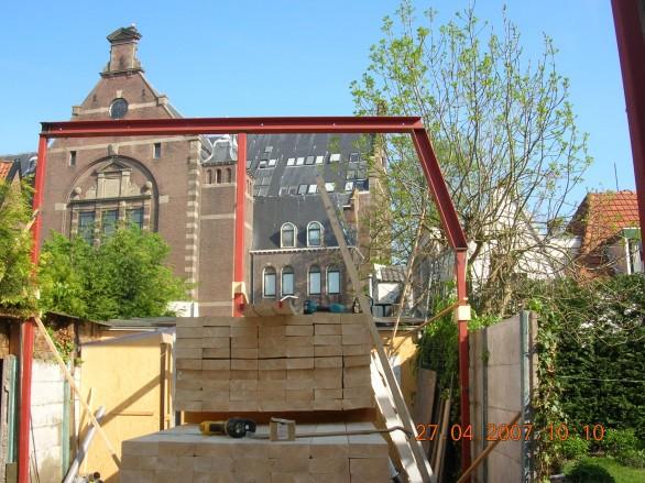 Hoorn, Nieuwbouw dubbele woning binnenstad