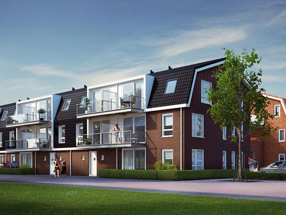 Heiloo Oostweide – 103 woningen en appartementen