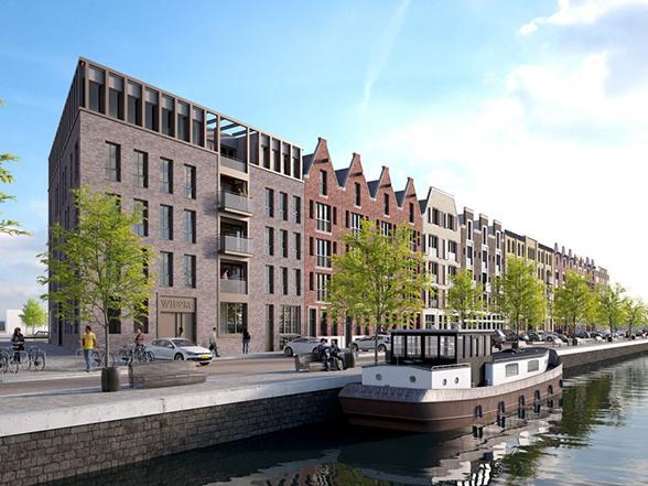 Amsterdam Houthavens Wiborg – 86 appartementen