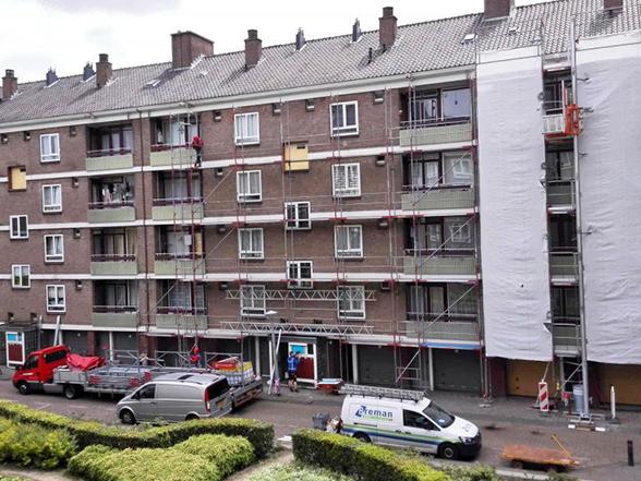 Amsterdam Karel Klinkenberg straat blok 45 – 24 appartementen