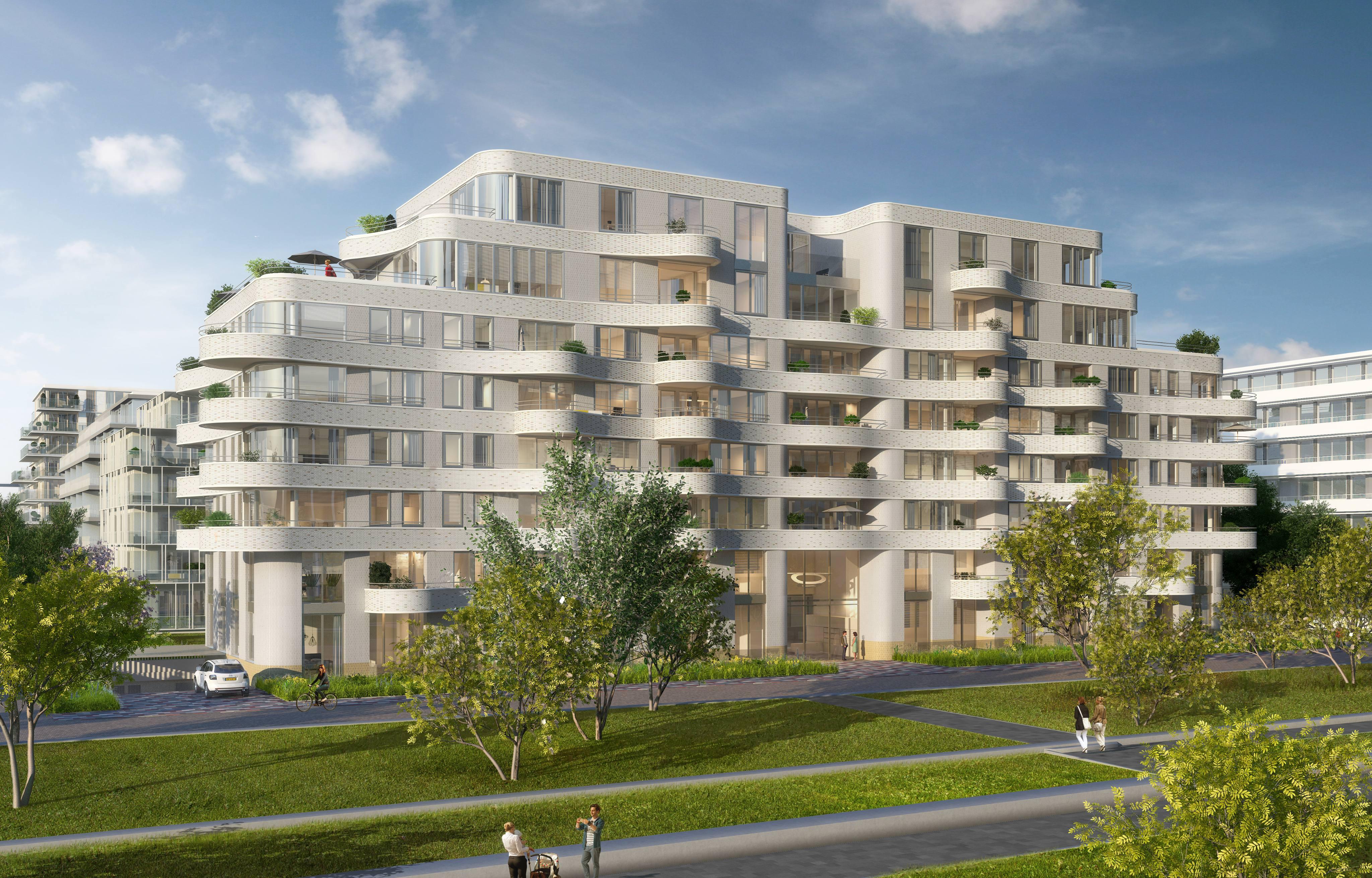 Amsterdam aan het IJ – The Wave – 58 appartementen