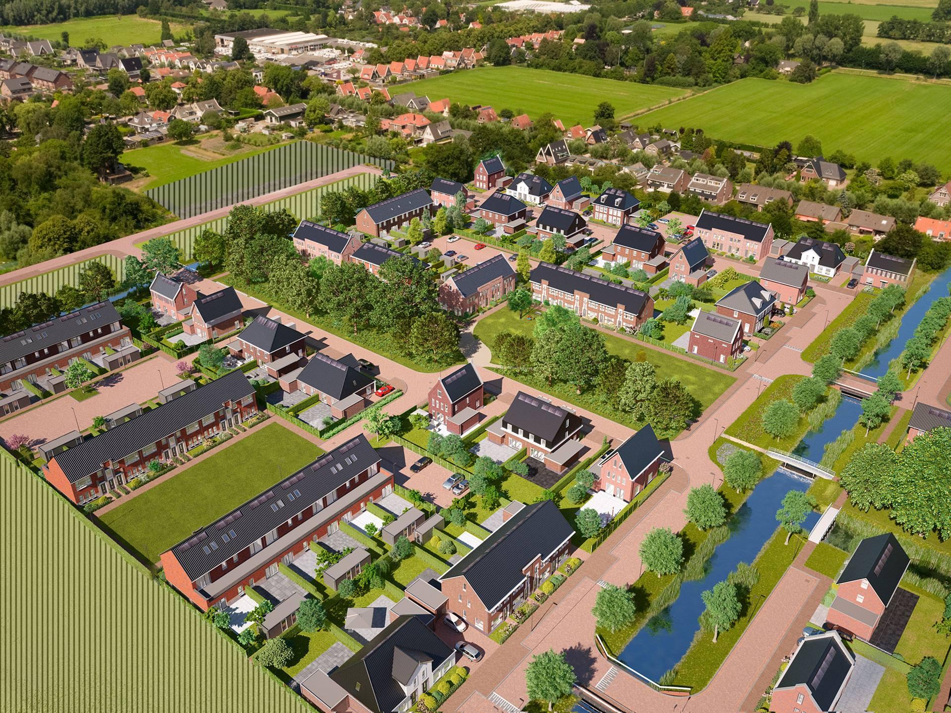 Middenbeemster –  De Nieuwe Tuinderij-Oost fase 2 – 76 woningen