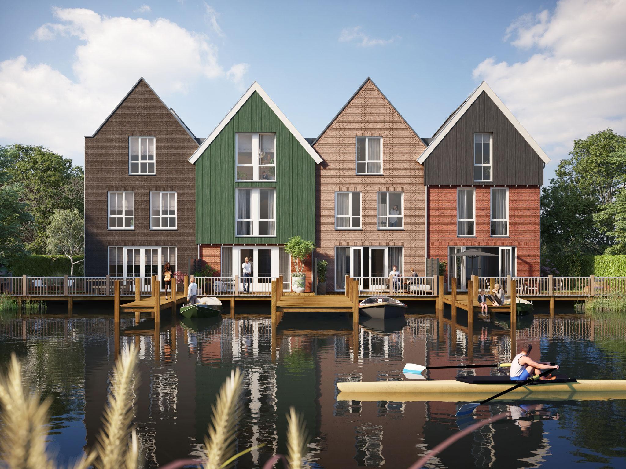 Zaandam – Pakhuis aan de Zaan – 6 woningen
